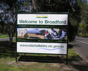 Broadford Welcome