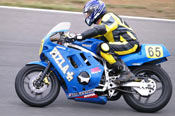 Tim on 400 Suzuki at Broadford 2011
