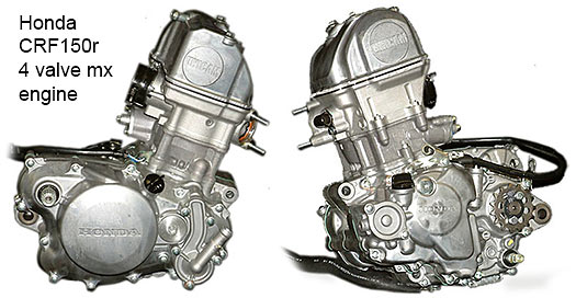Honda CRF150r engine